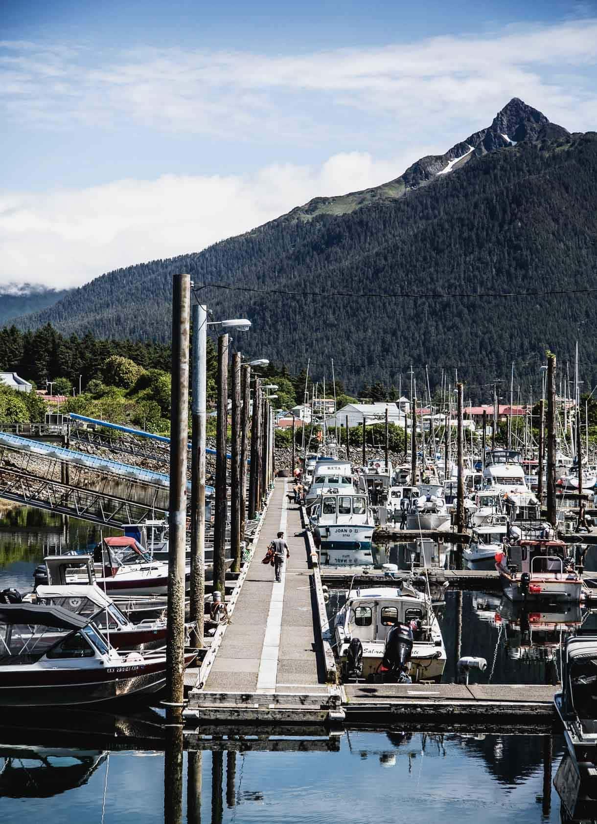 Sitka, Alaska - marina