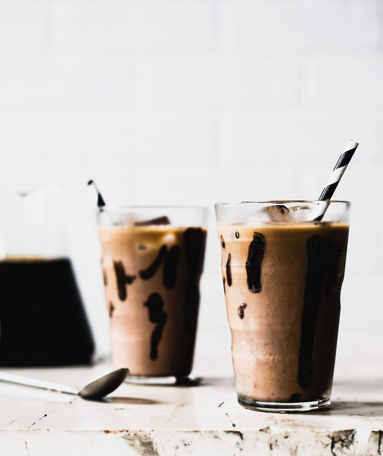 Iced Mocha Recipe (made with cold brew coffee)