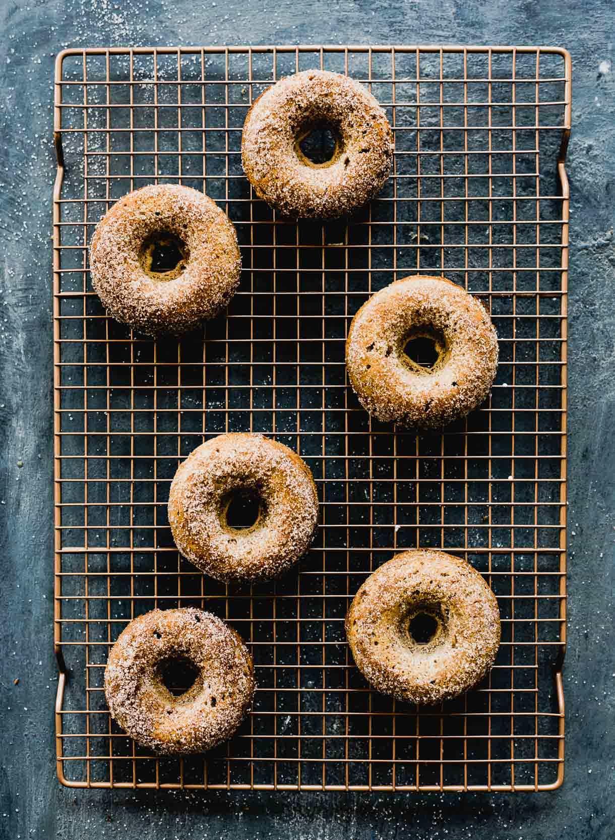 Baked Gluten-Free Pumpkin Spice Donuts