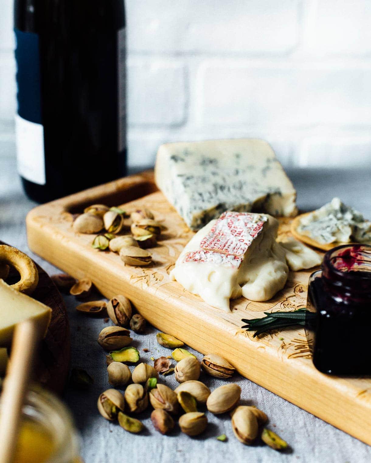 Taleggio Cheese, italian cheese board