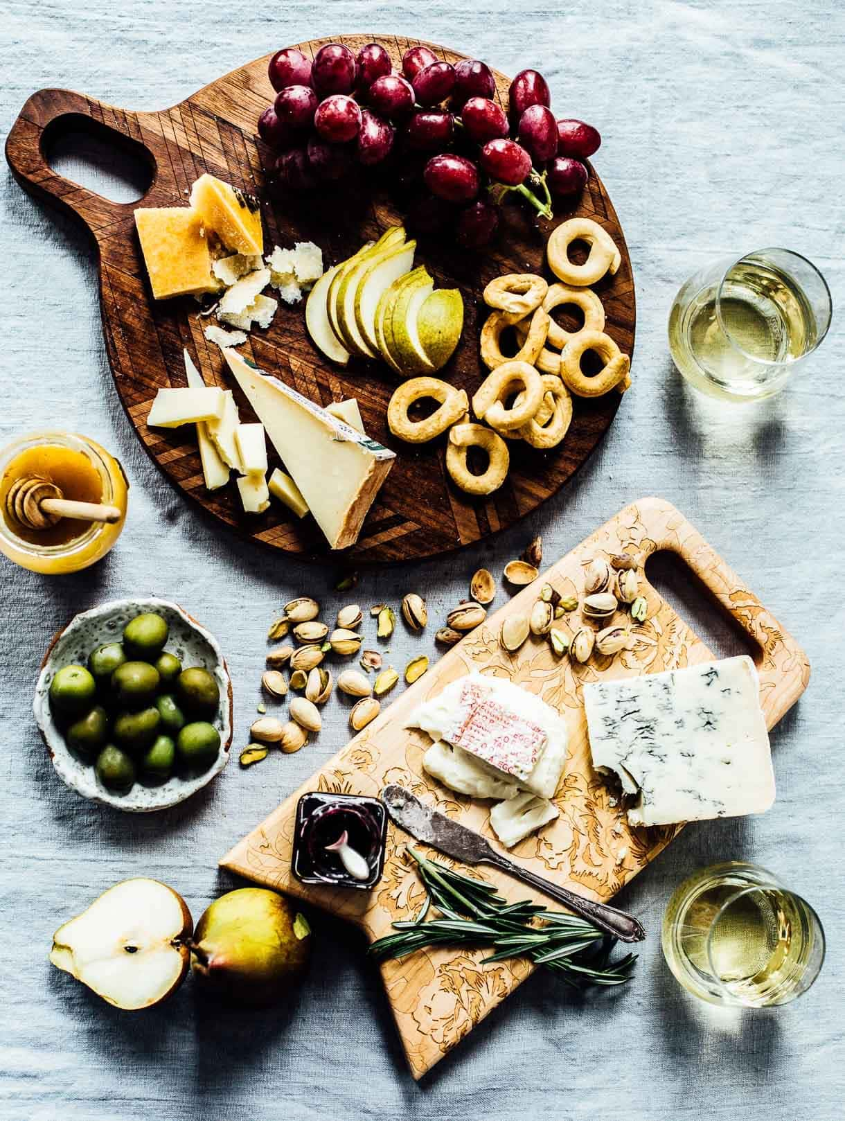 How to Make an Italian Cheese Board, with wine pairings