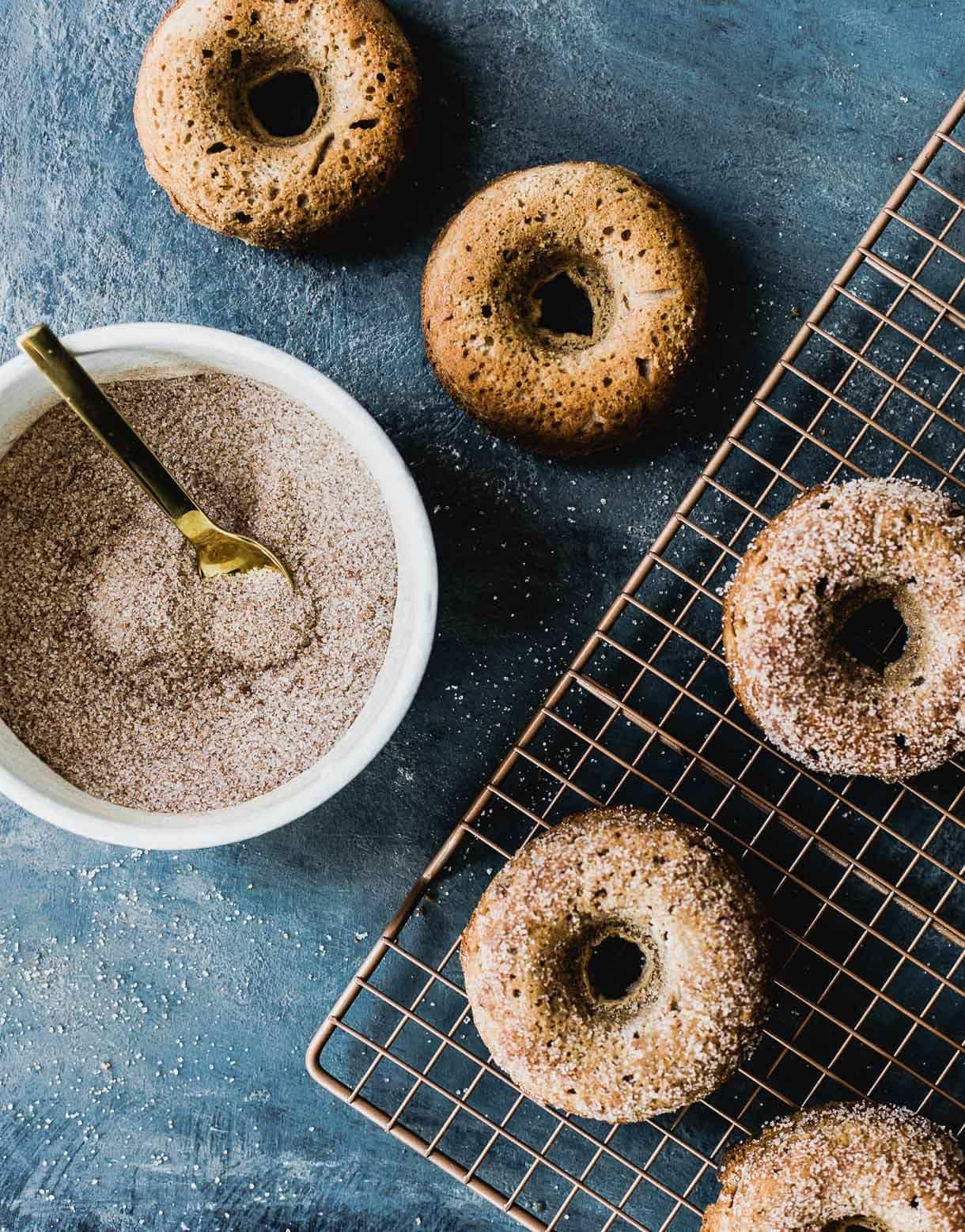 Gluten-Free Pumpkin Spice Doughnuts