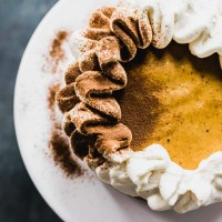 Instant Pot Cardamom Pumpkin Cheesecake {gluten-free}