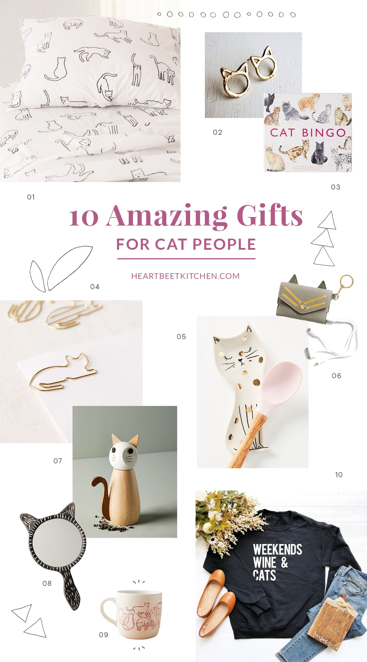 10 Amazing Gifts for Cat People, People who love cats, Cat Lovers