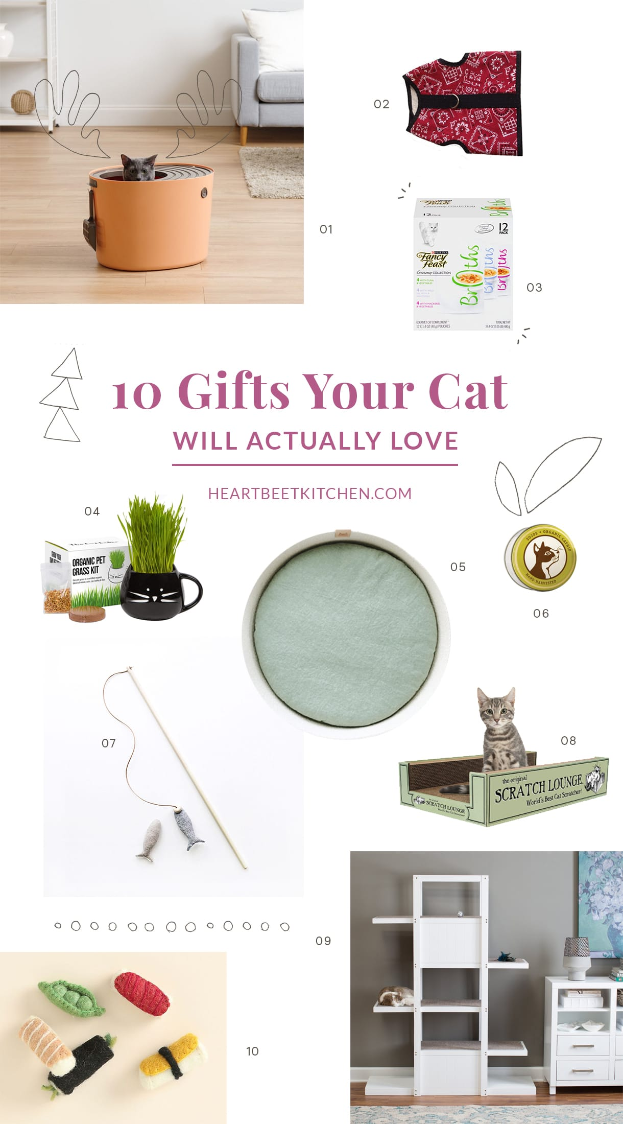 Top 10 Gifts For Cats, Gifts Your Cat will Actually Love