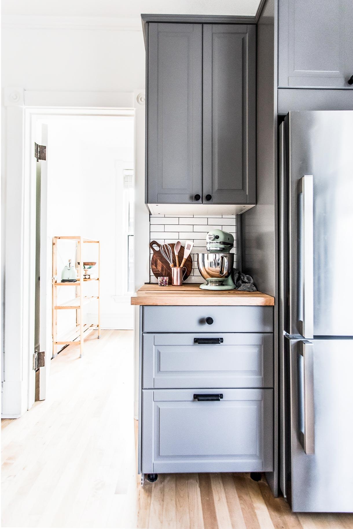 IKEA Cabinets, kitchenaid stand mixer