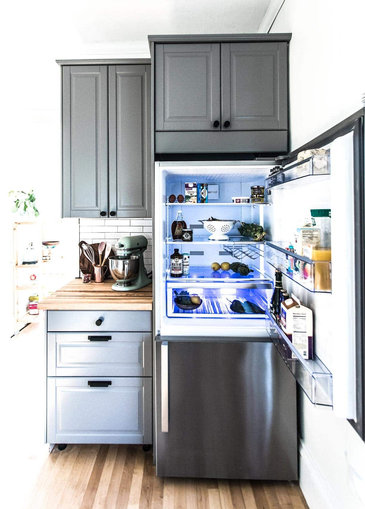 Beko Refrigerator in Kitchen Remodel