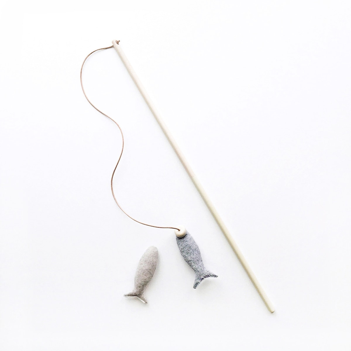Fishing Rod Cat Toy // Siamese Social Club
