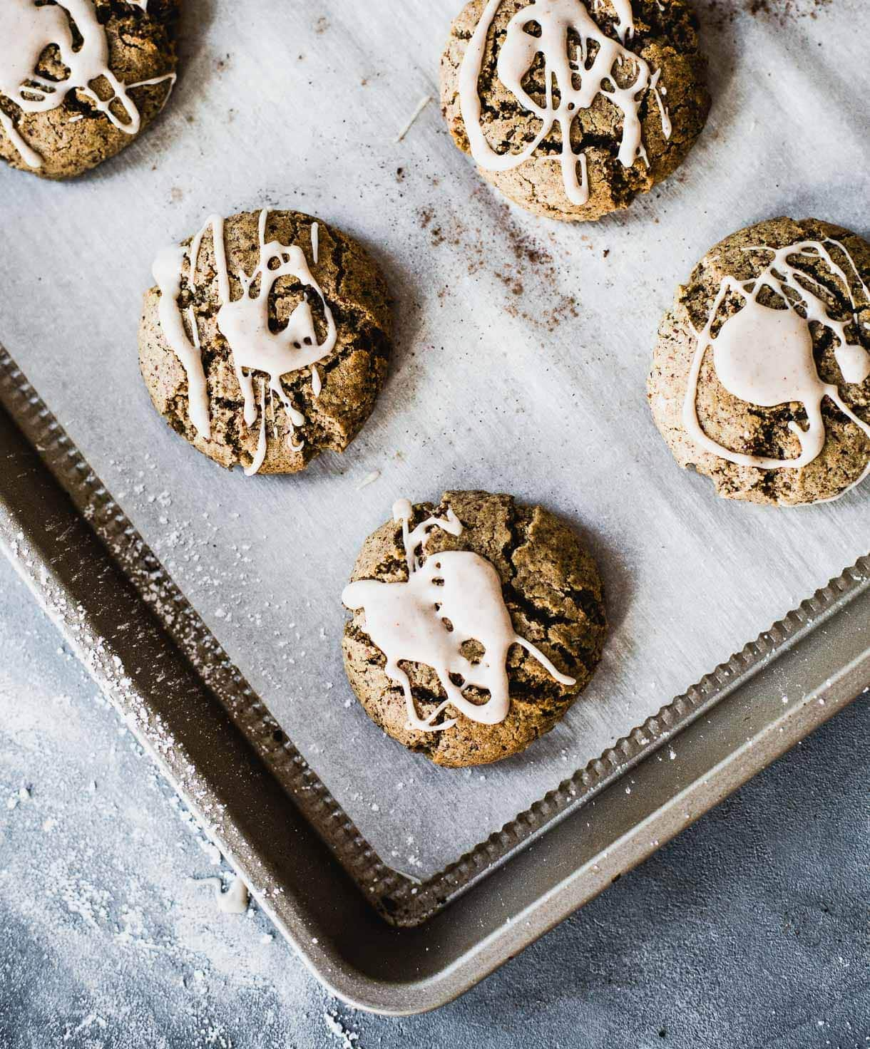 gluten free christmas cookies with pecans