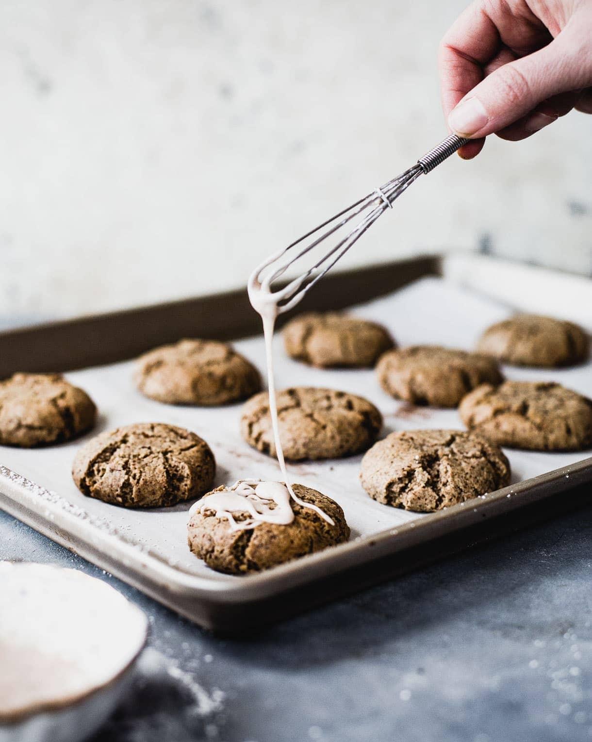 Gluten-Free Christmas Cookies, gluten-free snickerdoodles