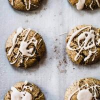 Soft Cinnamon Pecan Gluten-Free Christmas Cookies