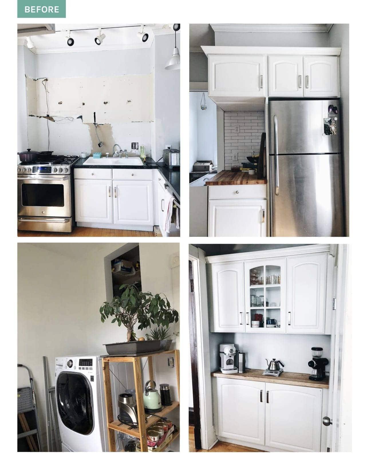 Before photos kitchen renovation