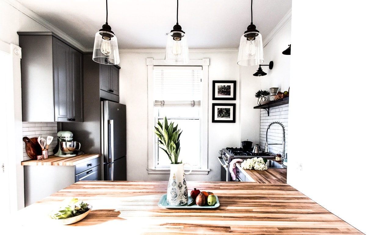Modern Minimalist Kitchen Renovation