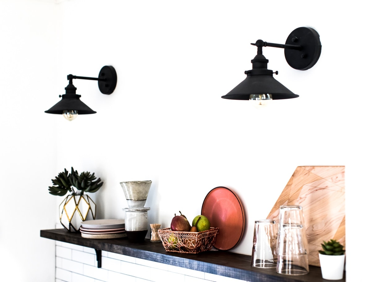 Kitchen Shelving, Kitchen Wall Sconce