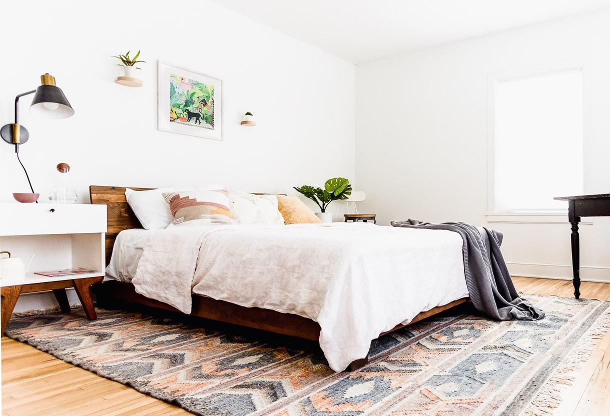 Minimalist Bedroom, Feminine Bedroom