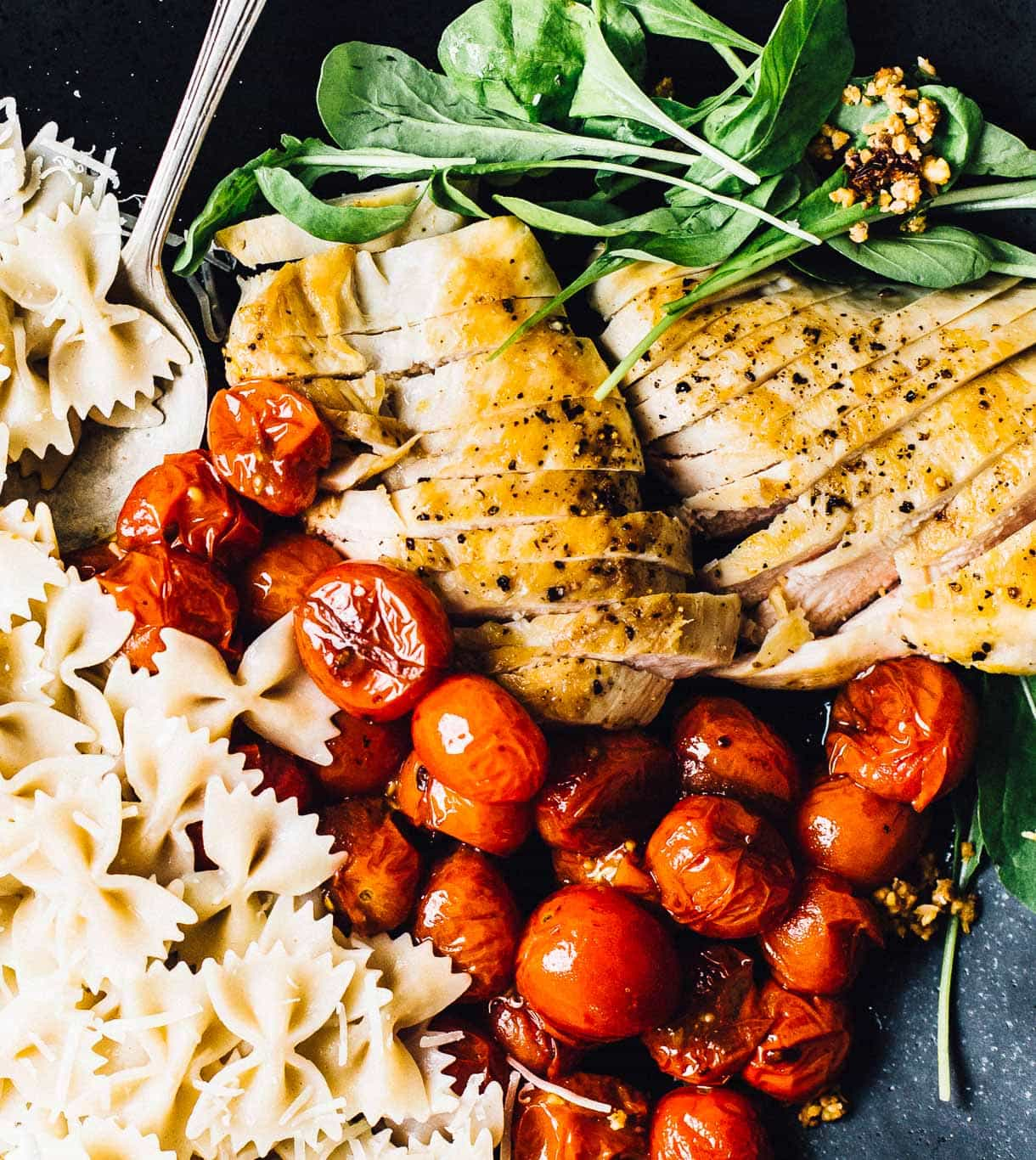 Tomato Chicken Pasta Salad