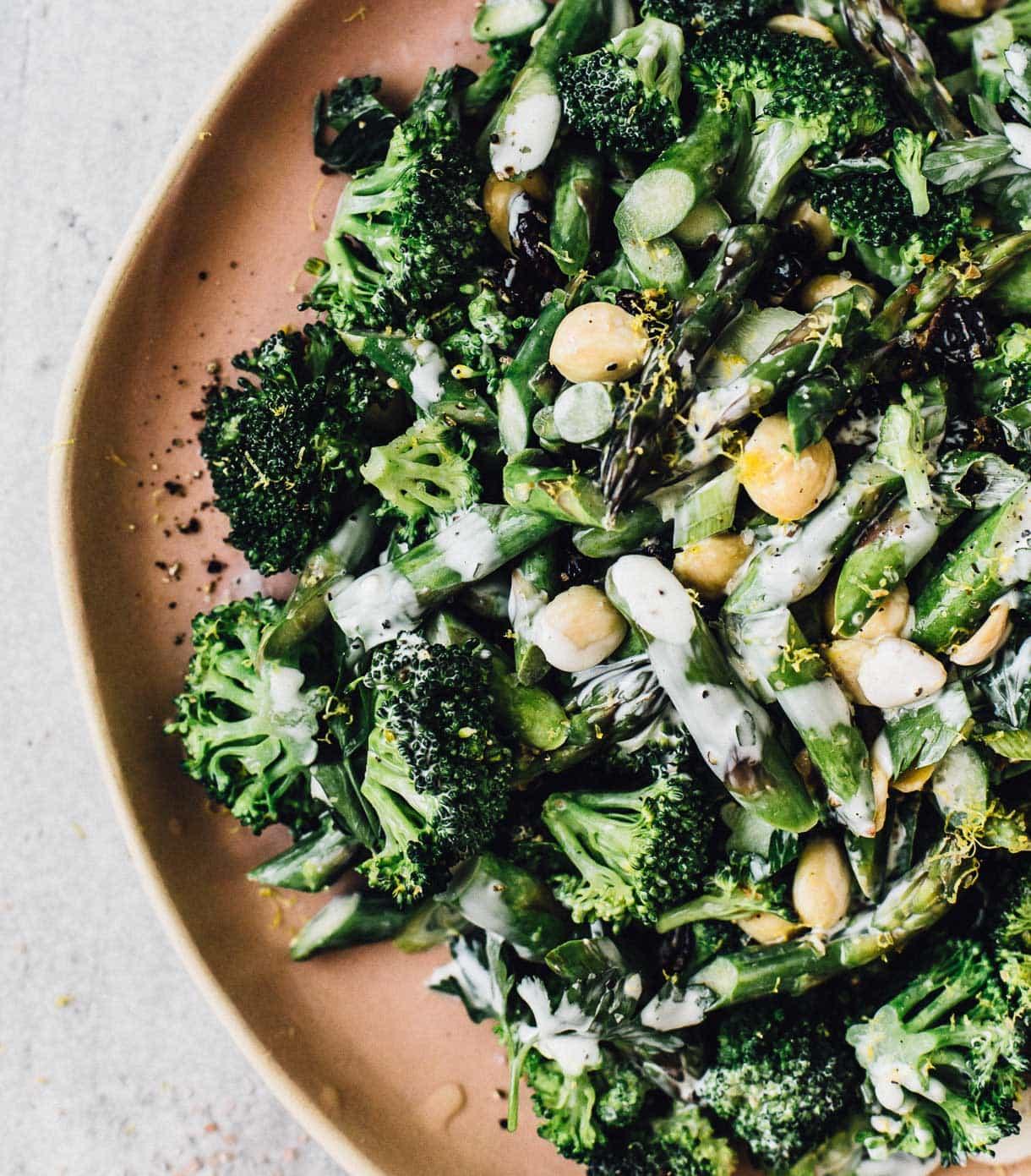 Broccoli Crunch Salad #spring