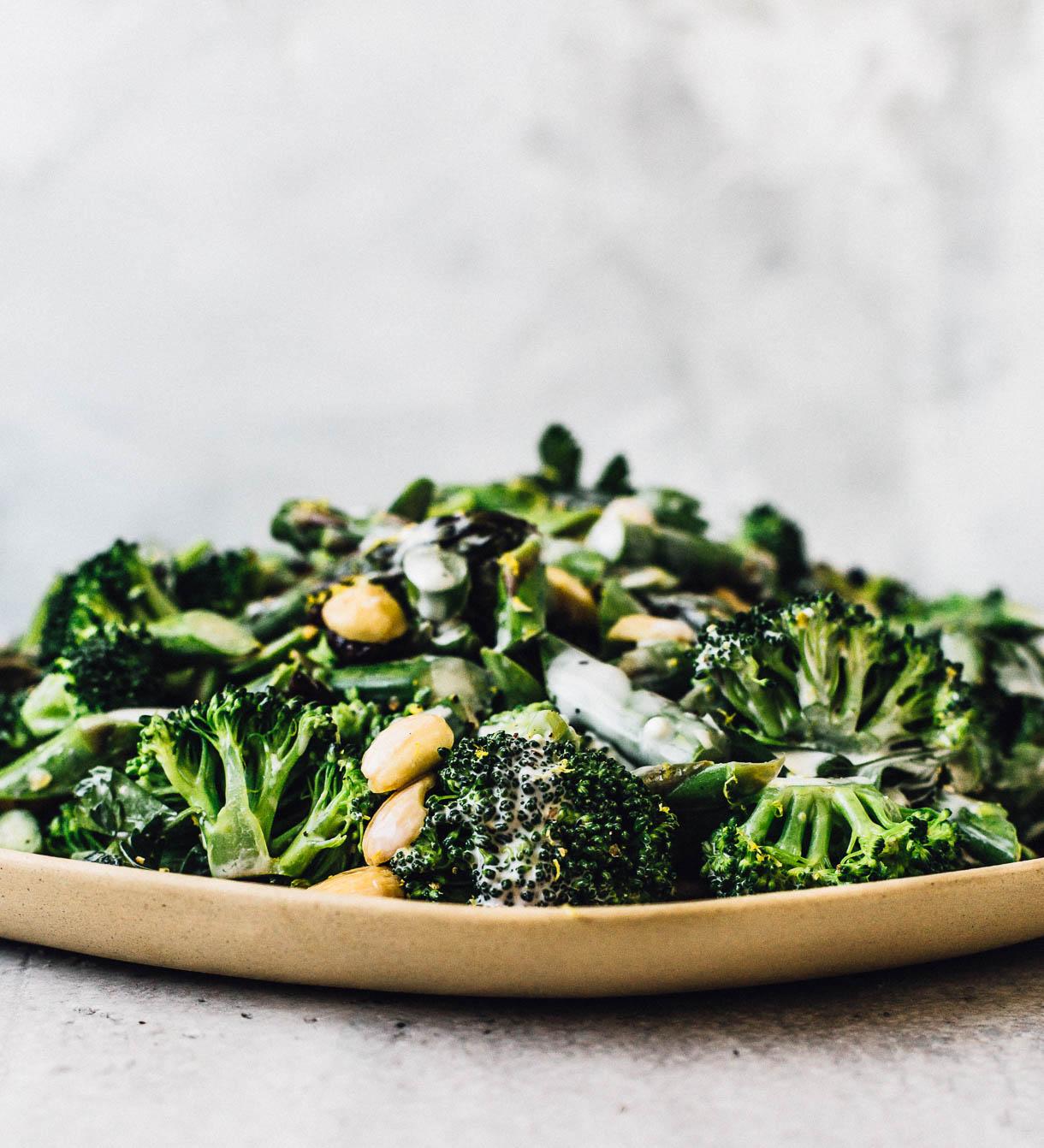 Broccoli Crunch Salad (no lettuce salad)