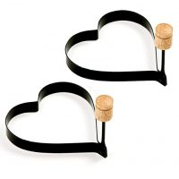 Norpro Nonstick Heart Pancake/Egg Rings, Set of 2