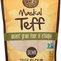 Maskal Teff Brown Teff Flour, 16 Ounce