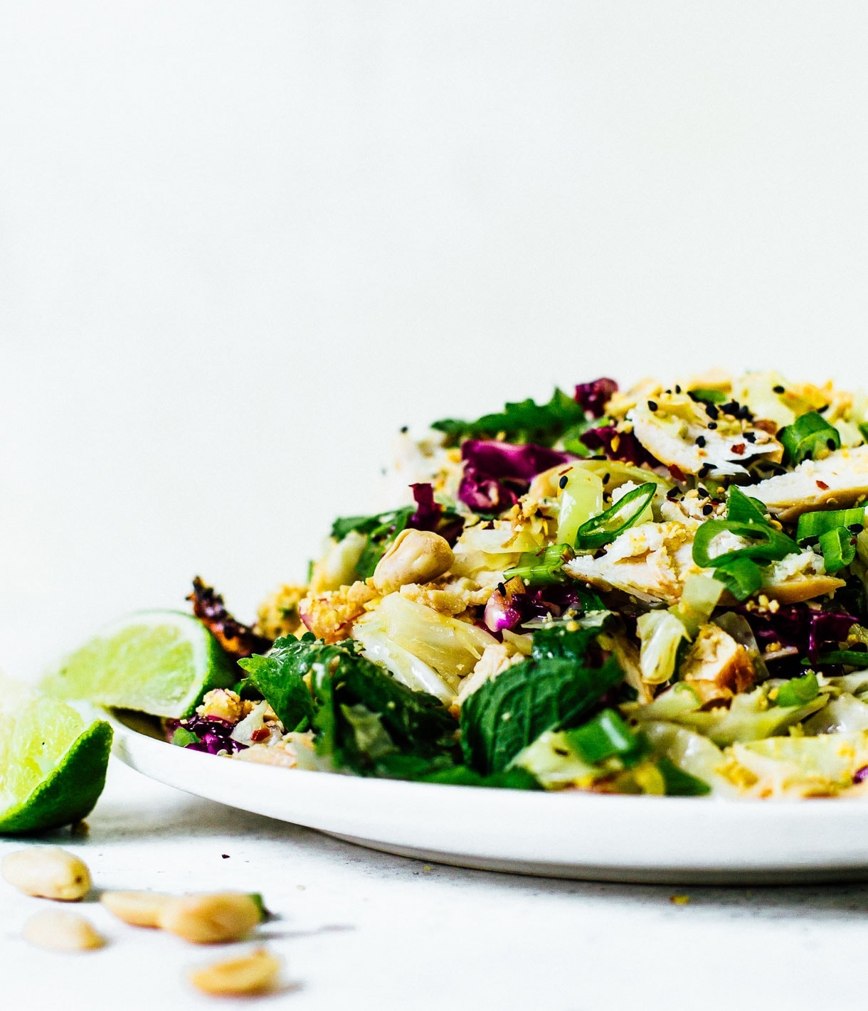 Chinese Cabbage Salad, dairy-free recipe