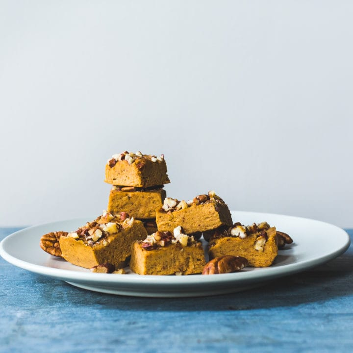 Magic Vegan Pumpkin Fudge Recipe
