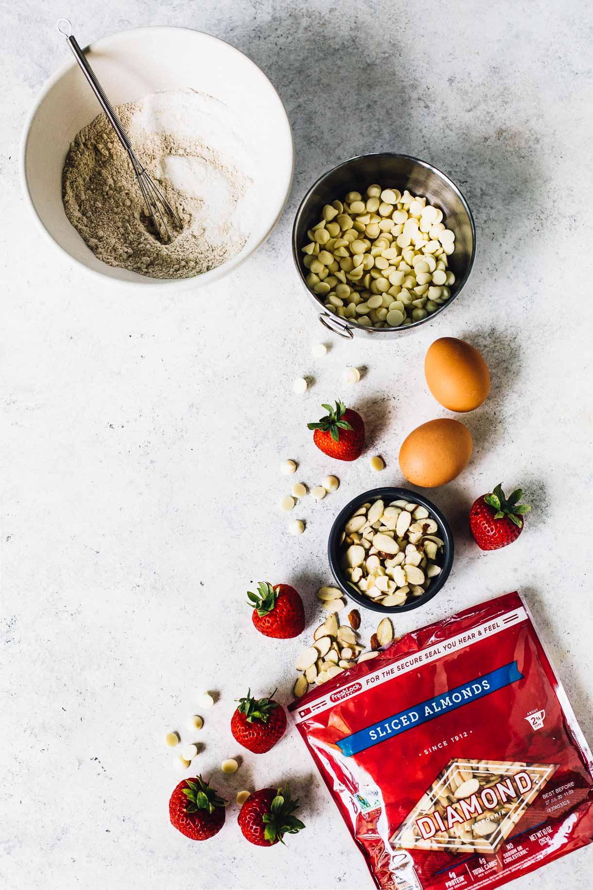 strawberry blondie bar recipe