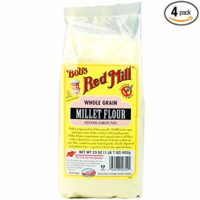 Bob's Red Mill Millet Flour, 23-ounce (Pack of 4)