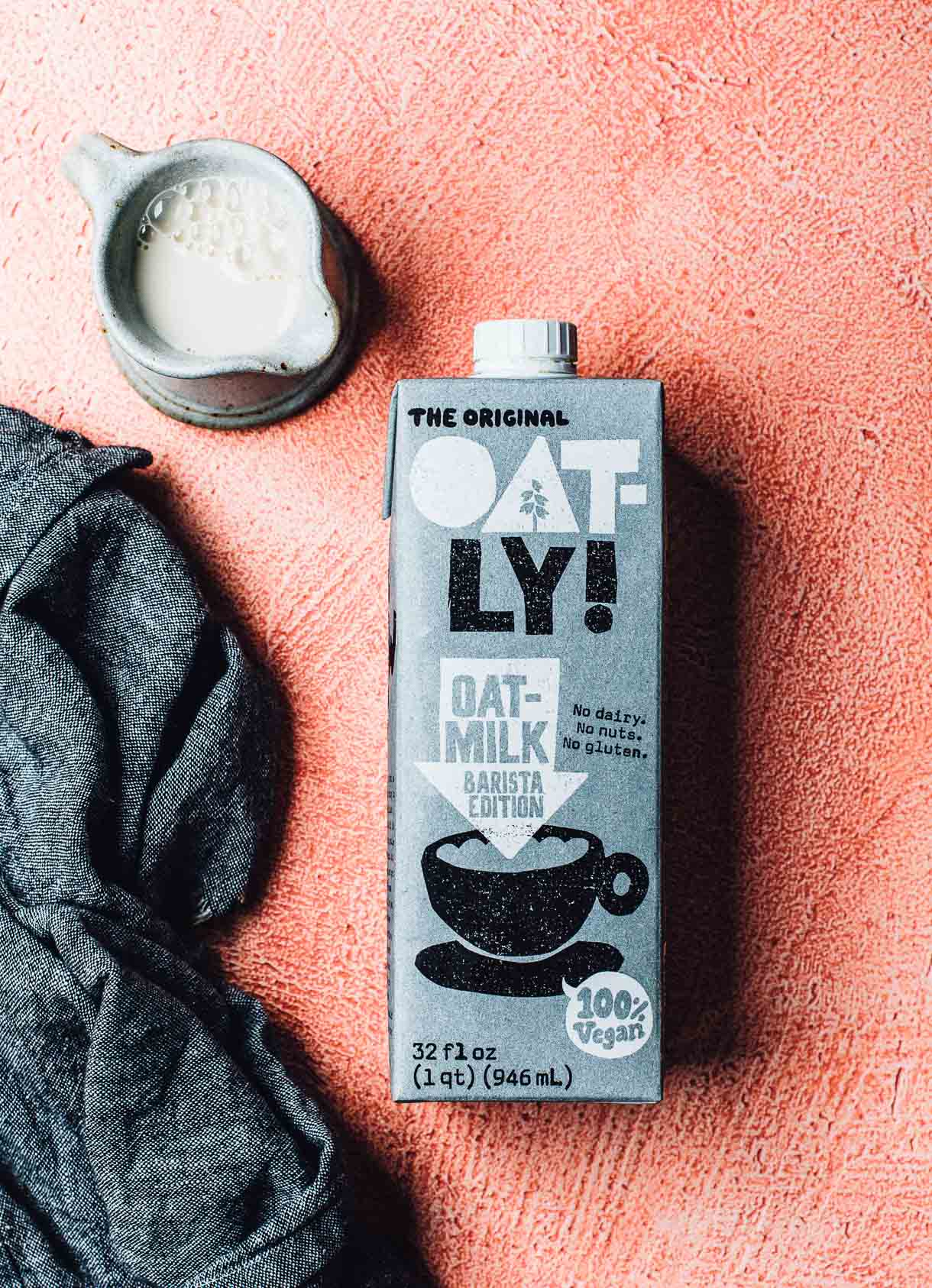 Oatly Oat Milk - dairy free milk, oat milk photo