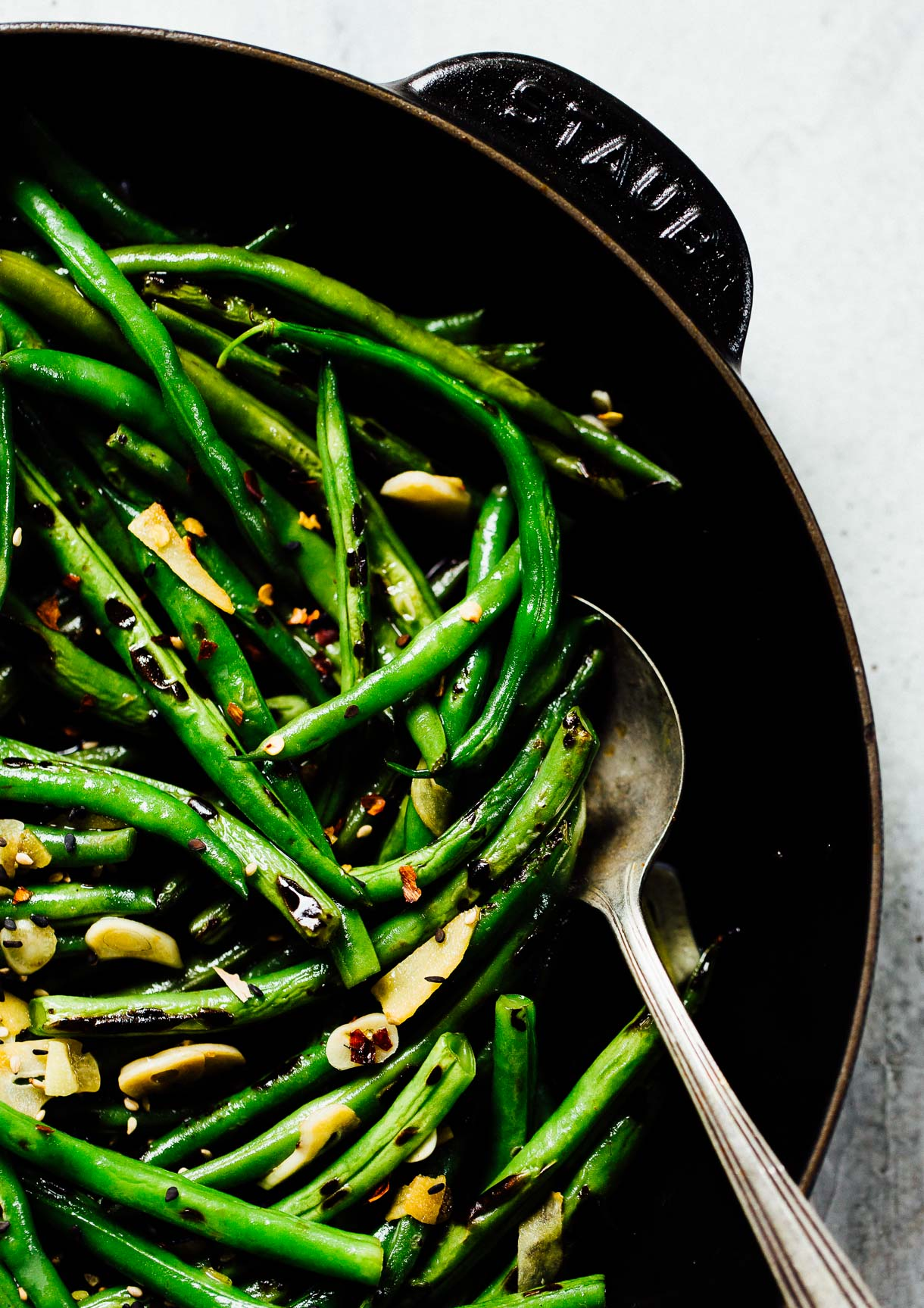 Spicy Asian Green Beans