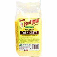 Bob's Red Mill Organic Corn Grits / Polenta, 24-ounce