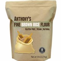 Anthony's Brown Rice Flour, Verified Gluten Free, Product of USA