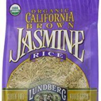 Lundberg Family Farms Organic Jasmine Rice, California Brown, 16 Ounce