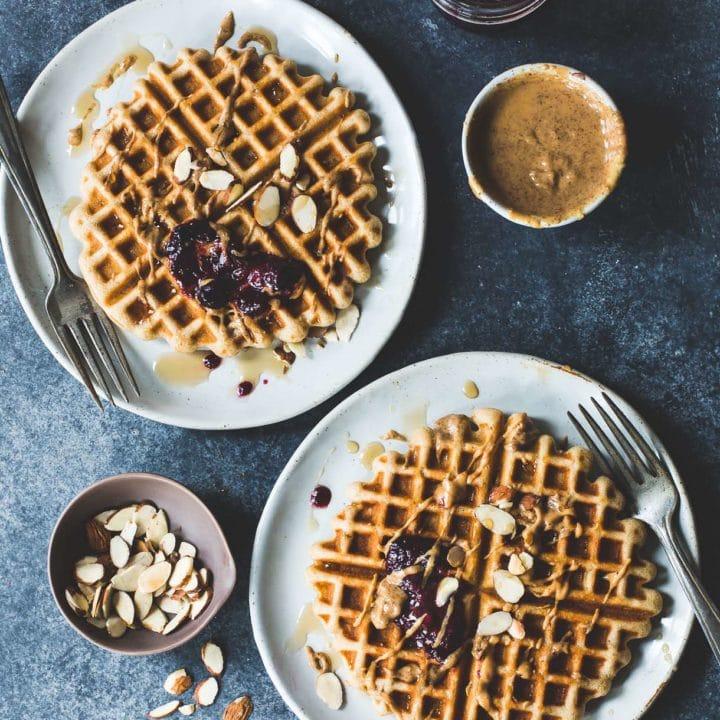 Brown Rice Flour Waffles