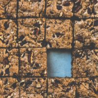 Coffee Chocolate Chunk Gluten-Free Blondies {made with teff flour}