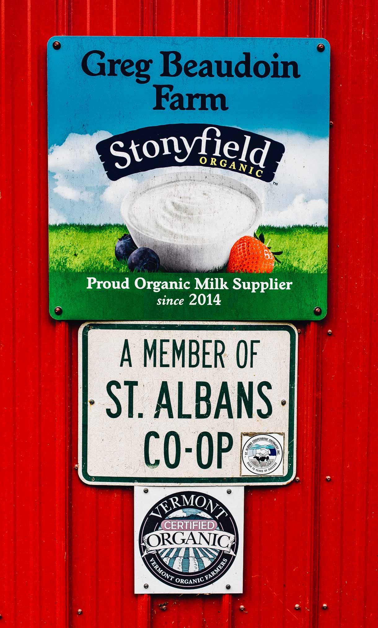 stonyfield organic farm