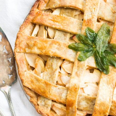 Light, Flaky Gluten-Free Apple Pie