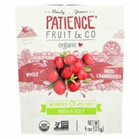 PATIENCE FRUIT &CO, CRANBERRIES