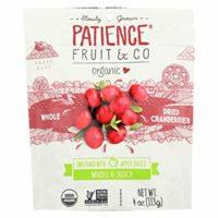 PATIENCE FRUIT &CO, CRANBERRIES