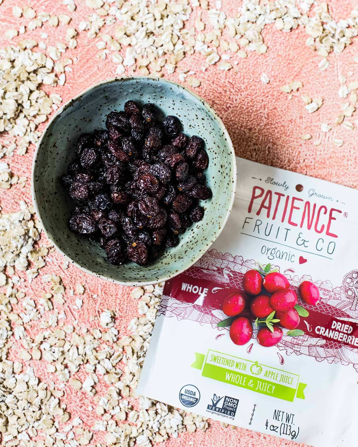 Patience Fruit & Co Dried Cranberries