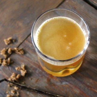 Vanilla Bean Hot Buttered Rum Recipe
