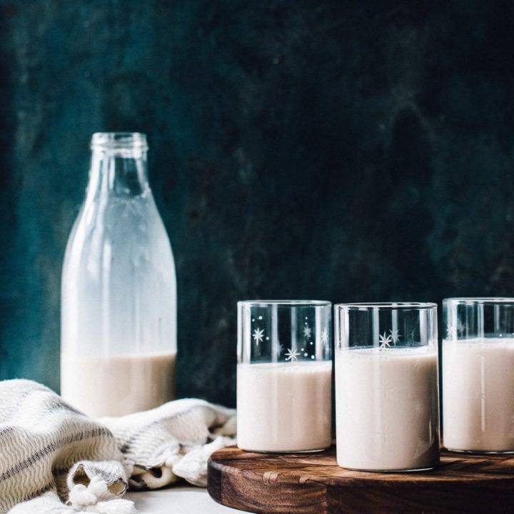Homemade Almond Pecan Milk Recipe