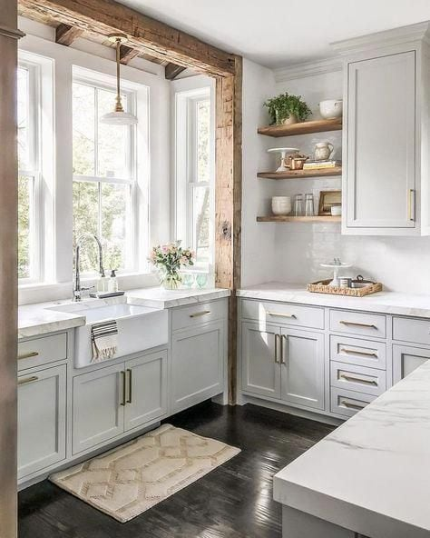 Full Reveal Of Our Modern U Shaped Kitchen Remodel Heartbeet