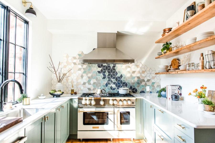 wide shot of Heartbeet Kitchen studio