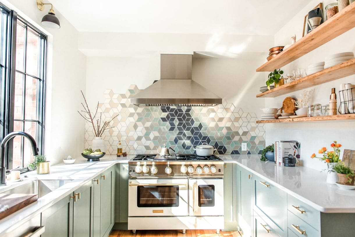 Full Reveal Of Our Modern U Shaped Kitchen Remodel Heartbeet Kitchen
