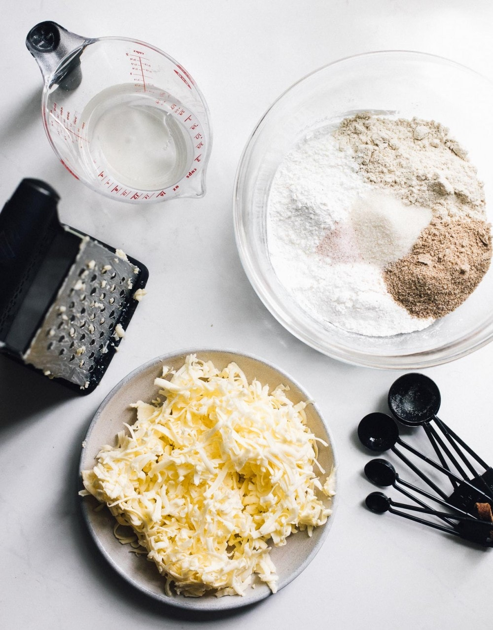 ingredients for gluten free pie crust