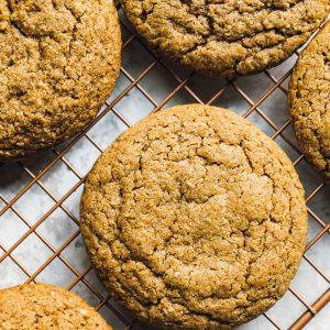 Soft, Chewy Gluten-Free Pumpkin Cookies