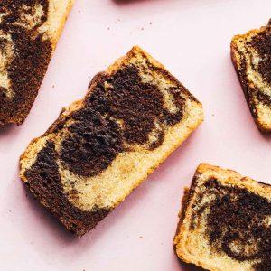 Marbled Gluten-Free Pound Cake