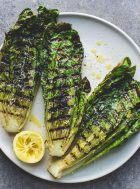 Grilled Romaine Lettuce Salad {vegetarian}