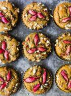 Gluten Free #Rhubarb Muffins